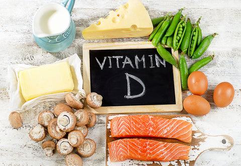 Diet high in Vitamin D