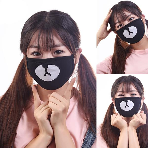 Bear Face Mask For Bike Riding