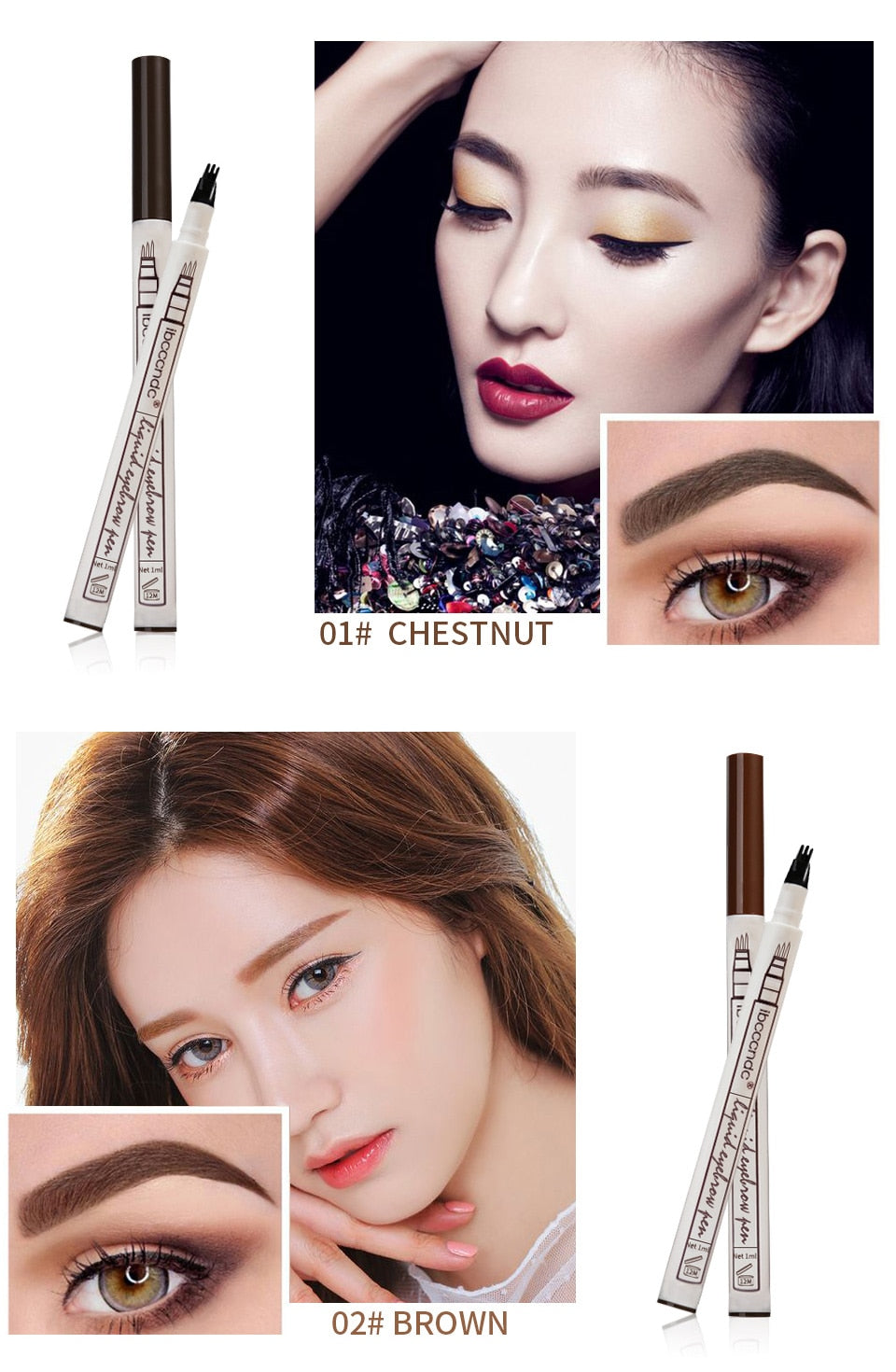 Eyebrow Waterproof Pen