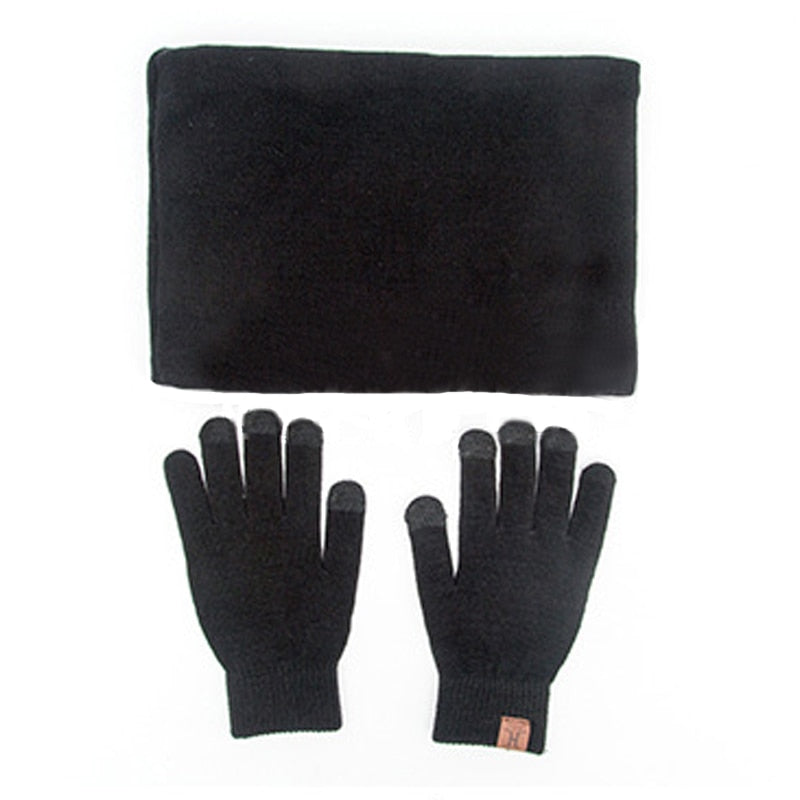 Winter Hat Gloves & Scarf For Men & Women - wholesale bear