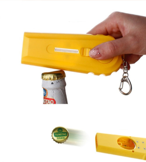 Flying Cap Bottle Opener