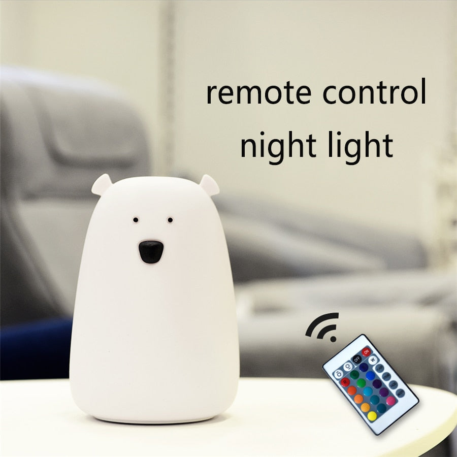 Bear Bedside Lamp-Remote Controlled