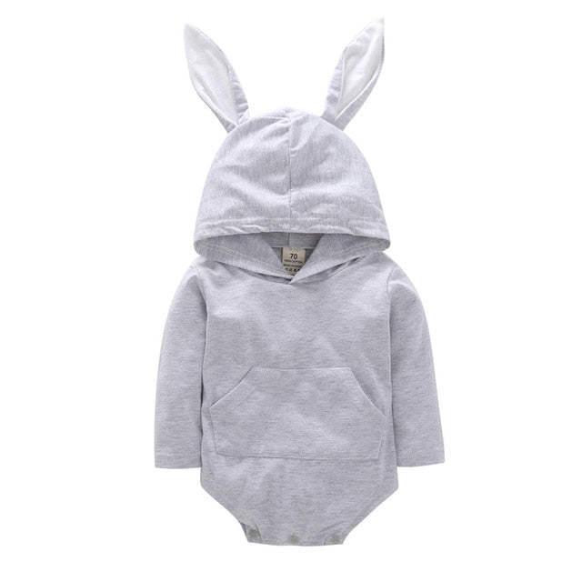 Cute Bunny Hooded Onesie