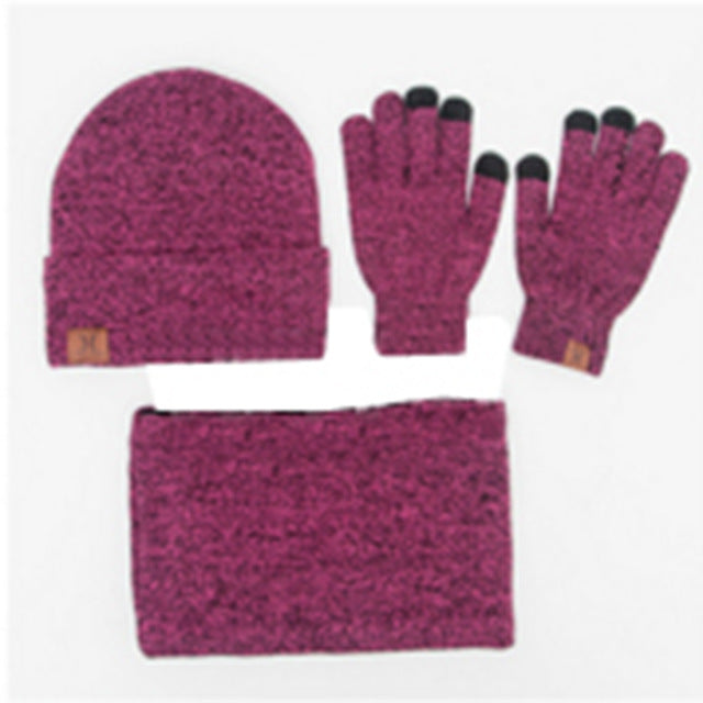 Winter Hat Gloves & Scarf For Men