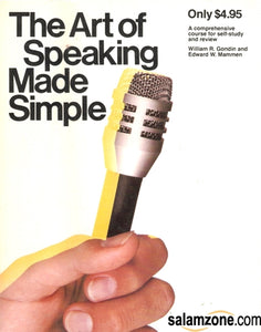 The Art Of Speaking Made Simple