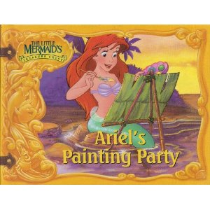 Ariel's Painting Party (The Little Mermaid's Treasure Chest)