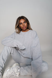 Grey Essential Oversized Sweatshirt