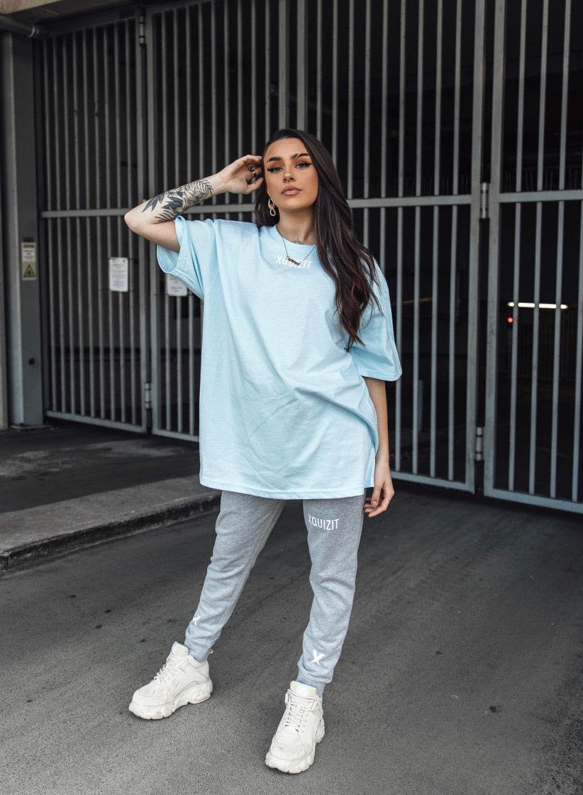 Light Blue Oversized T-Shirt