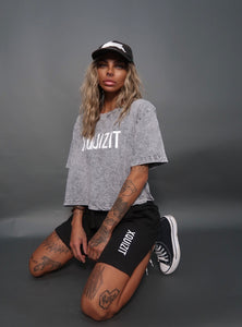 Black XQUIZIT Shorts