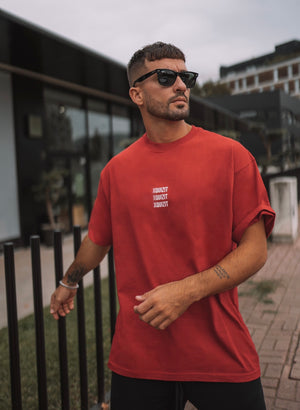 Red Regular Fit T-Shirt