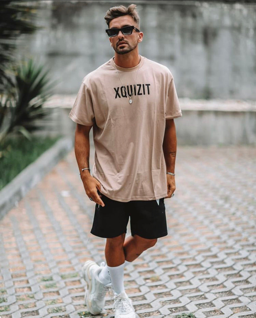 Tan Oversized T-Shirt