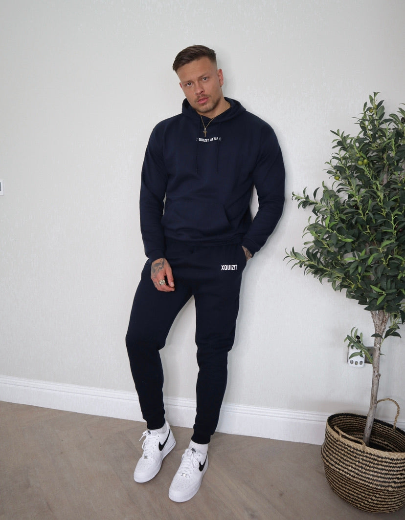 Navy Xquizit Joggers