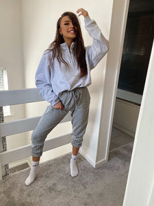 Grey Oversized Xquizit Sweatshirt