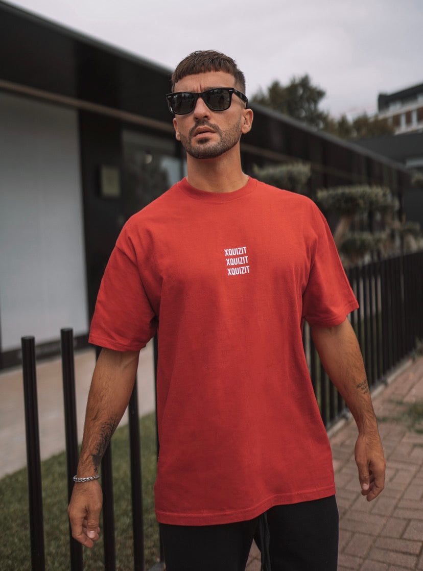 Oversized Red T-Shirt