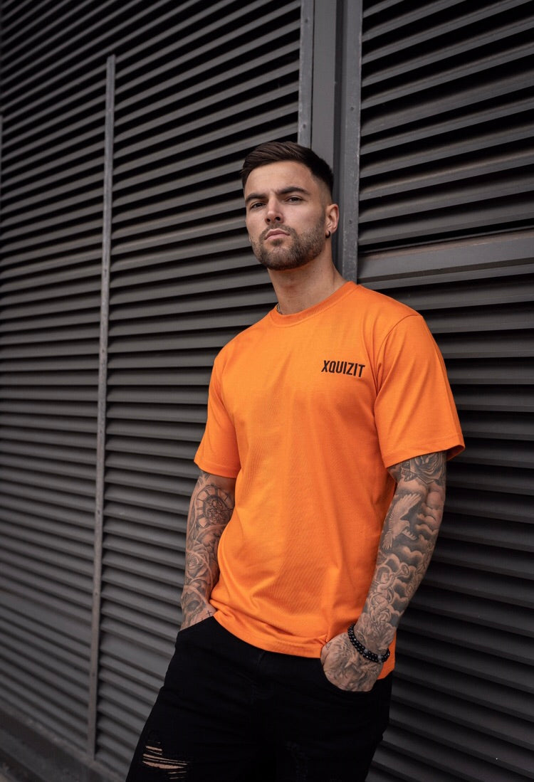 Orange XQUIZIT T-Shirt