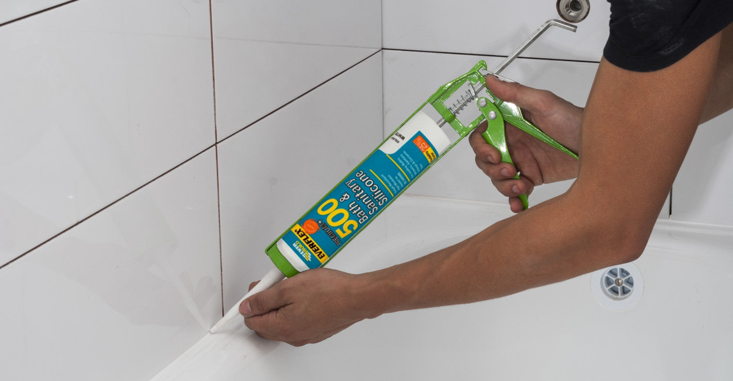 The Best Way to Seal a Bath or Shower - Bathroom Sealant