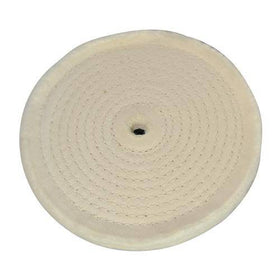 Spiral-Stitched Cotton Buffing Wheel
