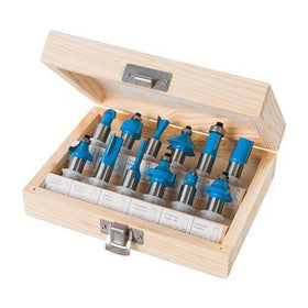 12mm TCT Router Bit Set 12pce