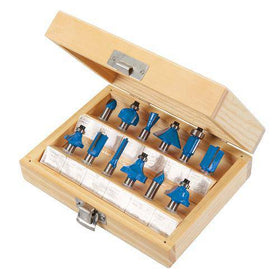 8mm TCT Router Bit Set 12pce