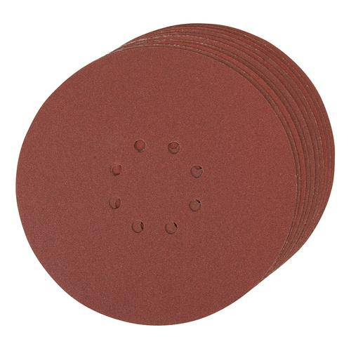 Hook & Loop Discs Punched 225mm 10pk