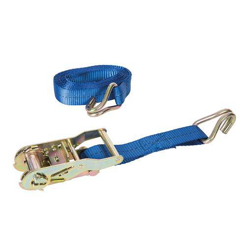 Ratchet Tie Down Strap J-Hook 4m x 27mm