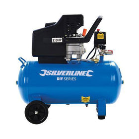 Silverline Air Compressor 1500W 2HP