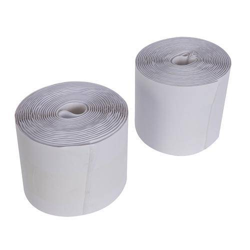 Hook & Loop Tape White Self-Adhesive 2pce