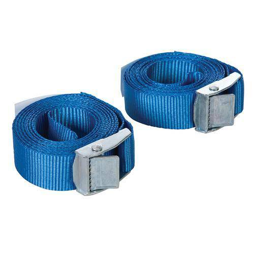 Cam Buckle Tie Down Strap 2.5m x 25mm 2pk
