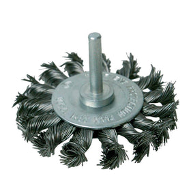 Rotary Steel Twist-Knot Wheel