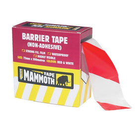 BARRIER TAPE RD/WE 72MM