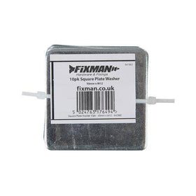Square Plate Washers 10pk