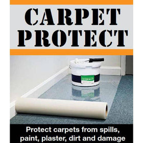 Carpet Protector Film - Reverse Wound