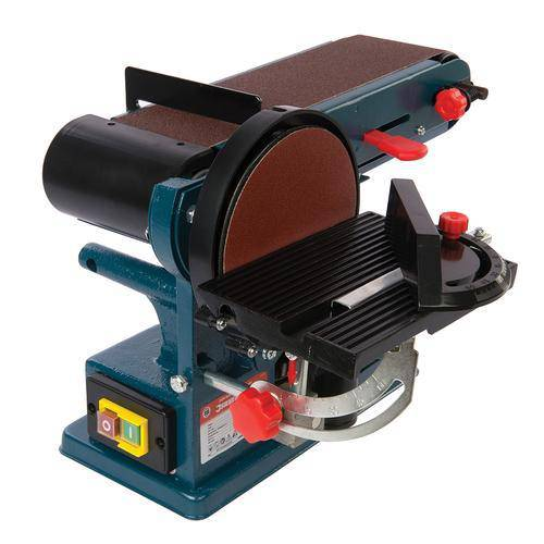 350W Bench Belt & Disc Sander 390mm