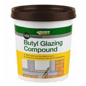Everbuild 102 Premium Butyl Glazing Compound