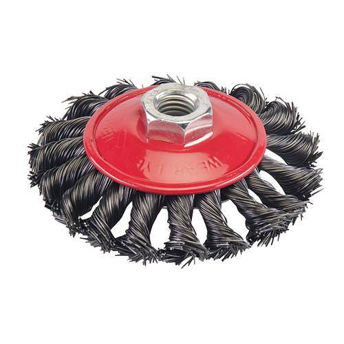 Steel Twist-Knot Brush