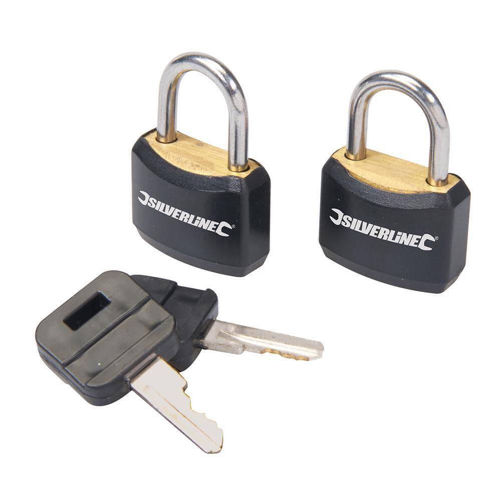 Padlock Set Keyed Alike 2pce