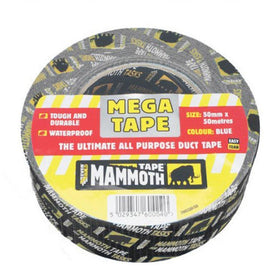 MEGA ALL PURP TAPE BLACK 50MM