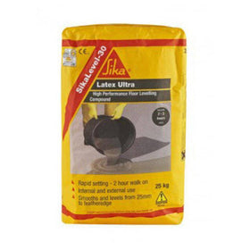 SikaLevel 30 Latex Ultra Levelling Compound - Grey - 25kg