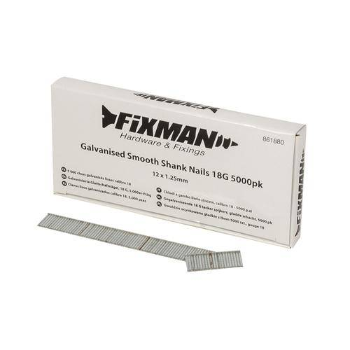 Galvanised Smooth Shank Nails 18G 5000pk