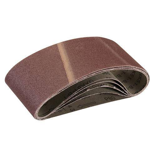 Sanding Belts 75 x 457mm 5pk