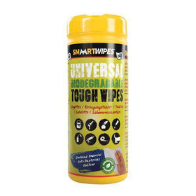 Universal Tough Wipes Biodegradable 40pk