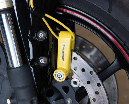 Motorcycle Disc Lock