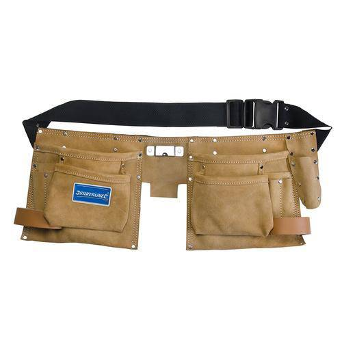 Double Pouch Tool Belt 8 Pocket