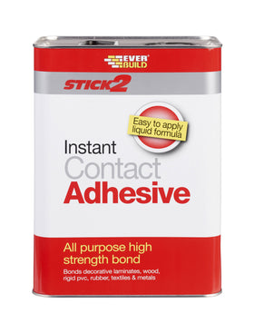 Everbuild Stick 2 All Purpose Instant Contact Adhesive