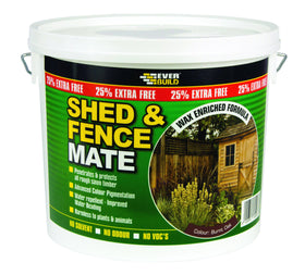 Everbuild Shed and Fence Mate Wax Enriched Water Repellent Treatment