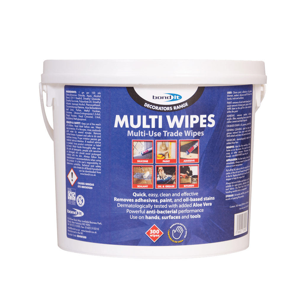 Bond-It Multi-Purpose Anti-bacterial Trade Wipes