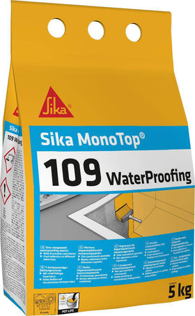 Sika MonoTop 109 WaterProofing Cementitious Mortar For Localised Waterproofing