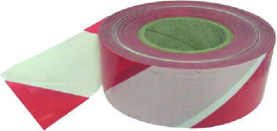 Red/White Tape, Non Adhesive (70mm x 500m)