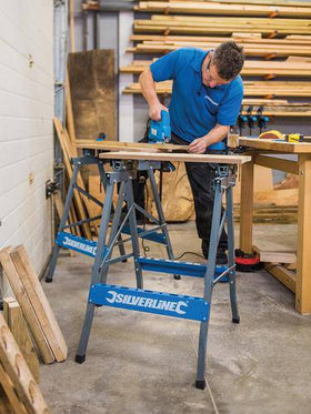 Heavy Duty Flip-Top Workbench