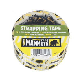 STRAPPING TAPE CLEAR 50MM